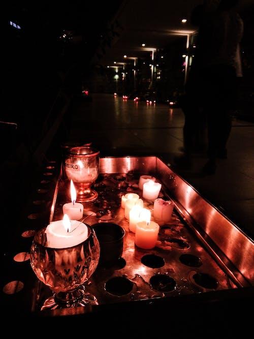 Kostenloses Stock Foto zu candlelights, kerze, kerzenlicht, licht