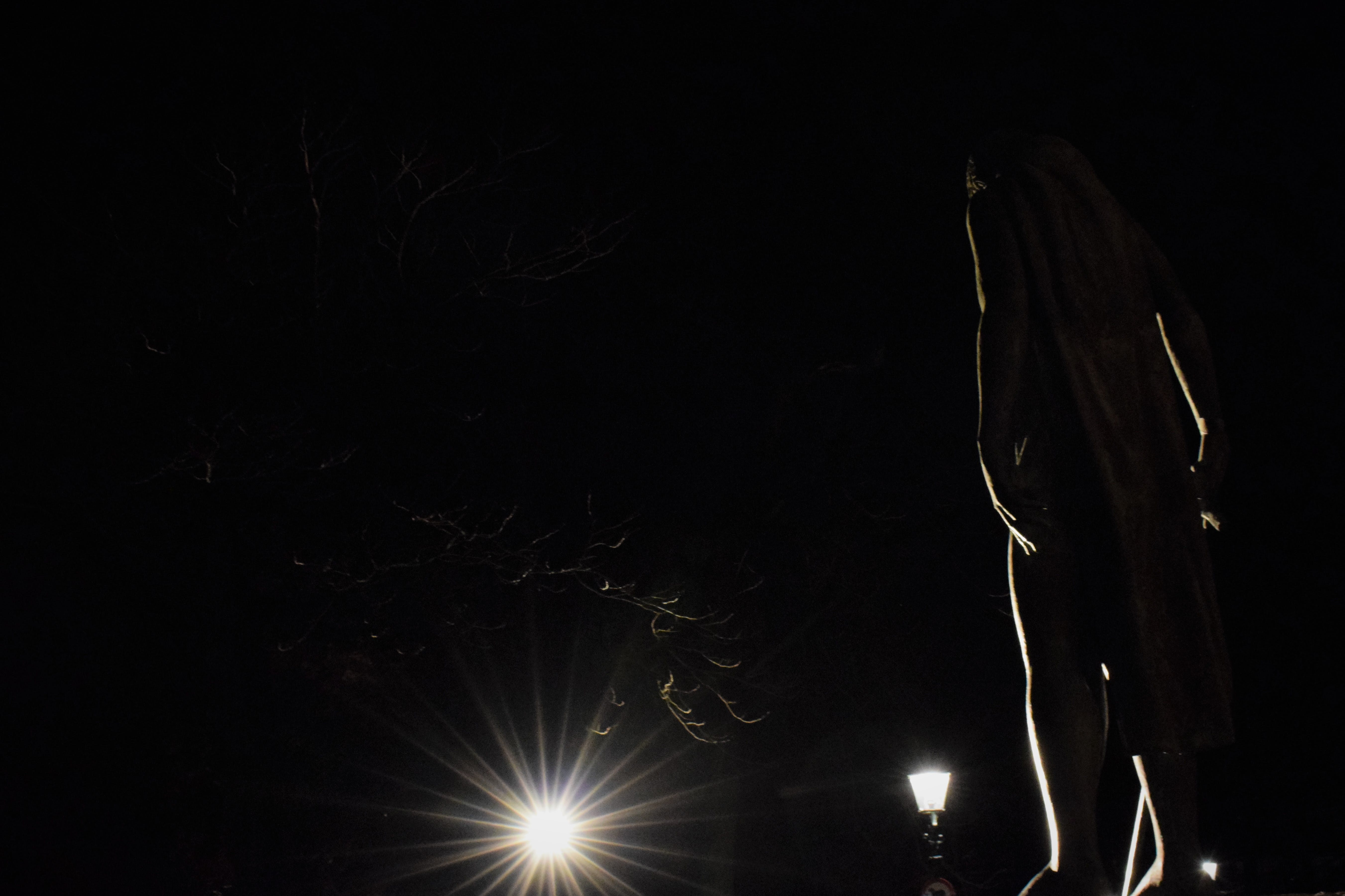 Free stock photo of art, back light, backlight, city