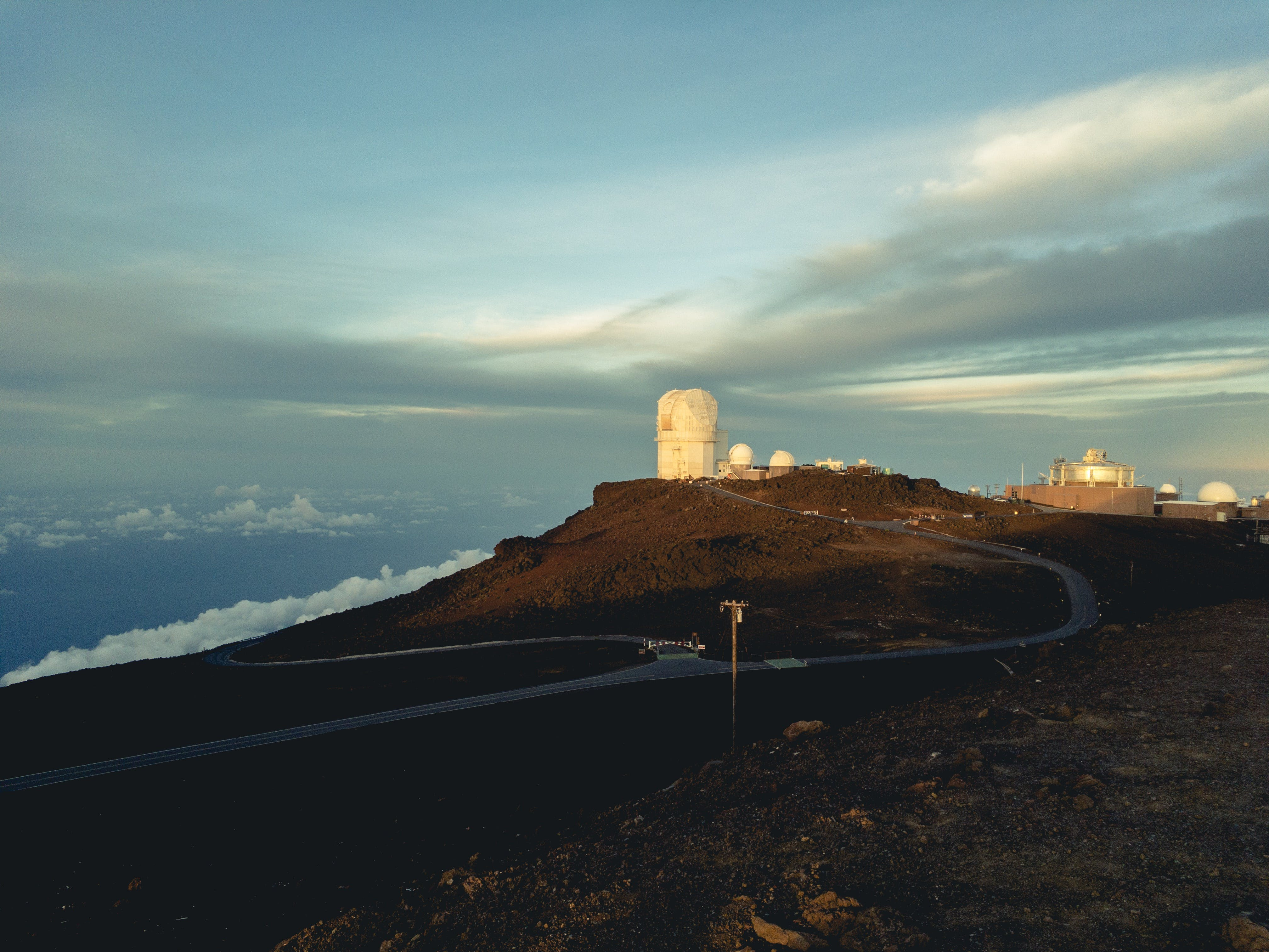 Free stock photo of high elevation, morning, observatory, sunrise