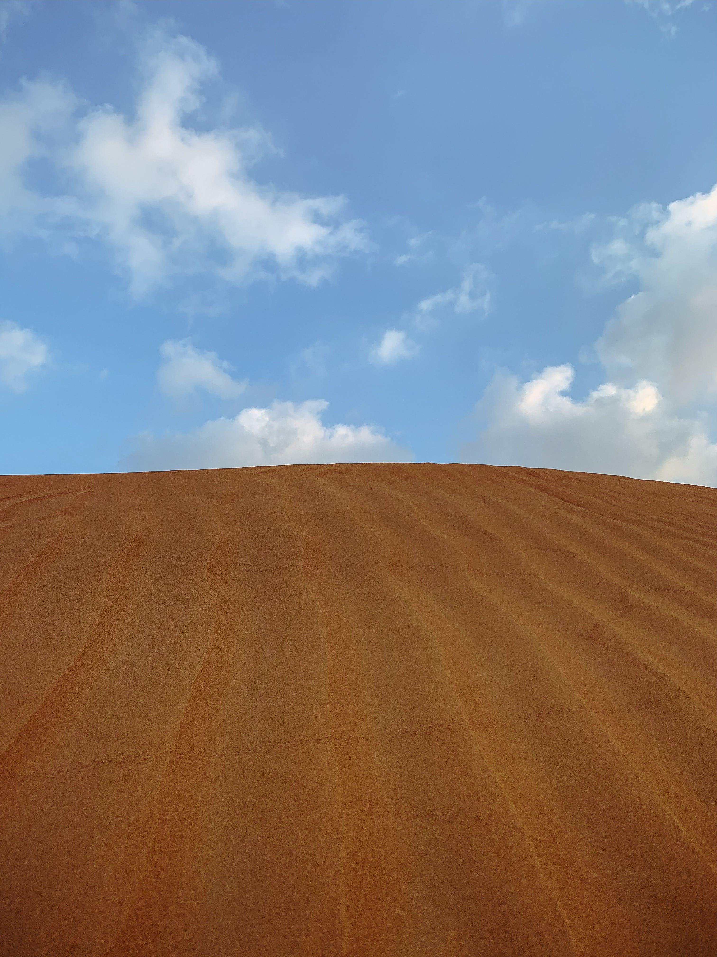 Gratis lagerfoto af blå himmel, ørken