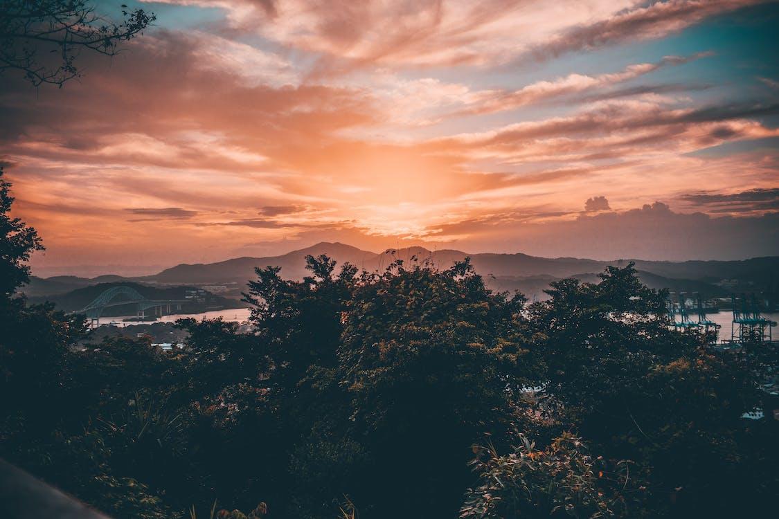 auringonlasku, aurinko, ilta