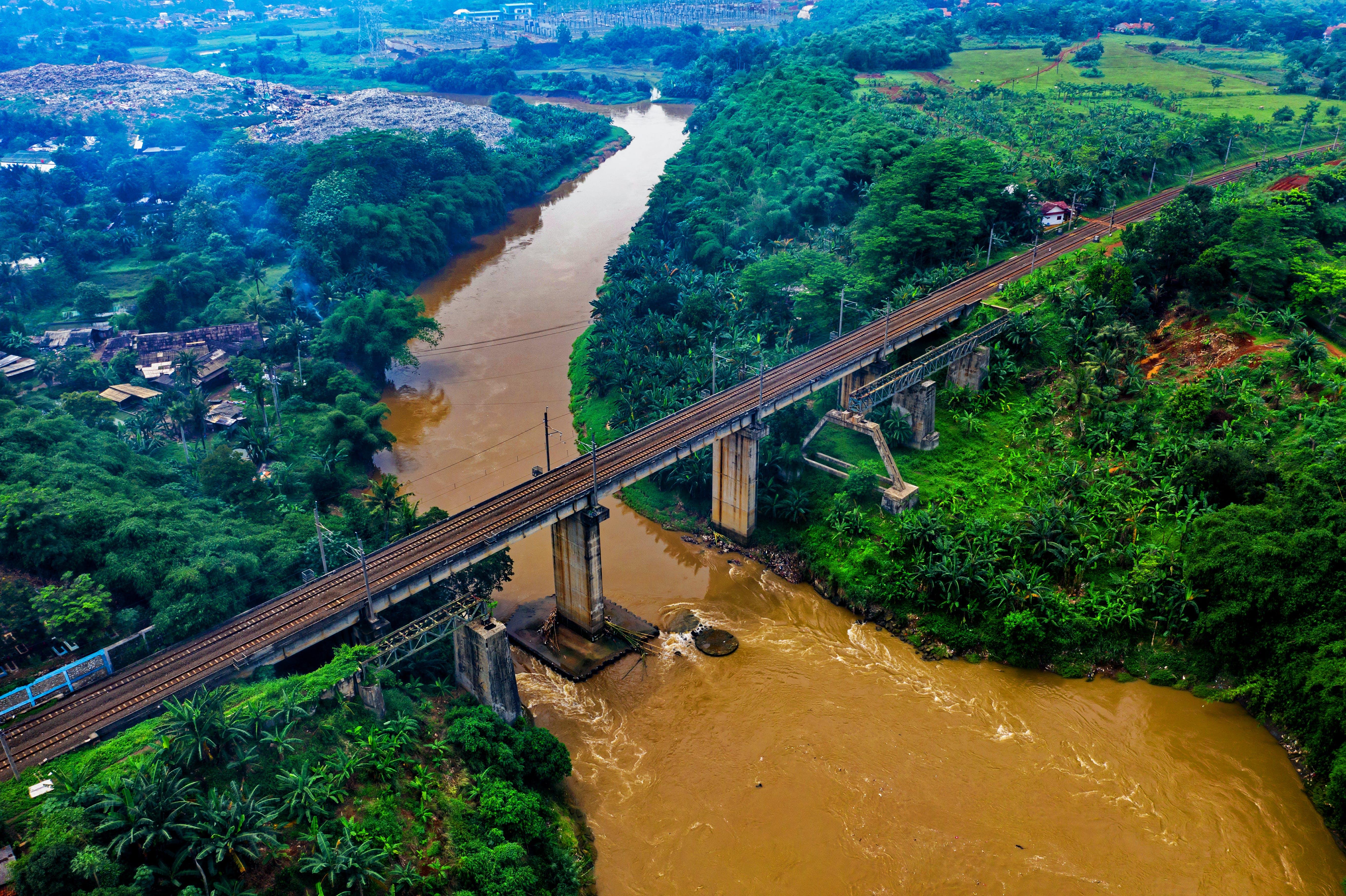 Aerial Photo of Railway