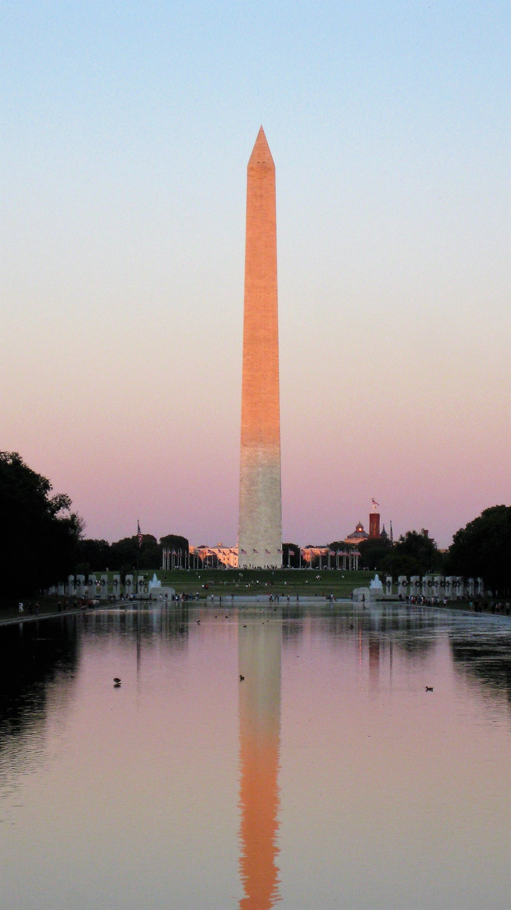 Free stock photo of colorful, colors, golden hour, reflecting pool
