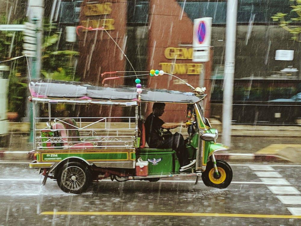 Kostenloses Stock Foto zu asien, auto-rikscha, bangkok