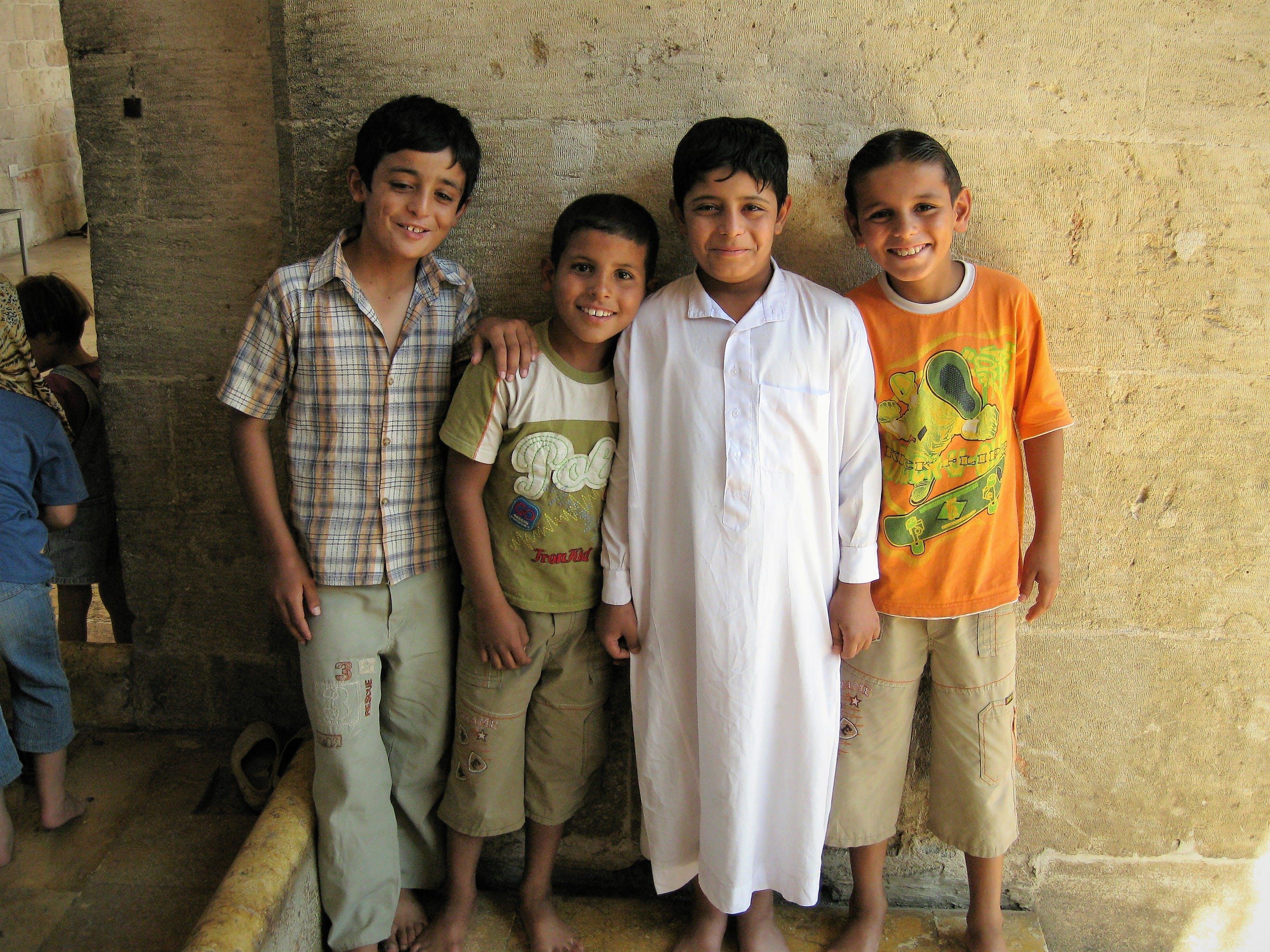 Free stock photo of arab, boys, children, muslim