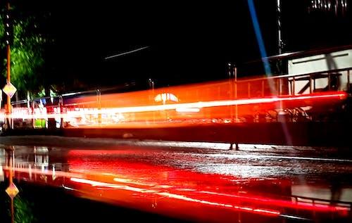 Fotos de stock gratuitas de larga exposición, ligero, noche