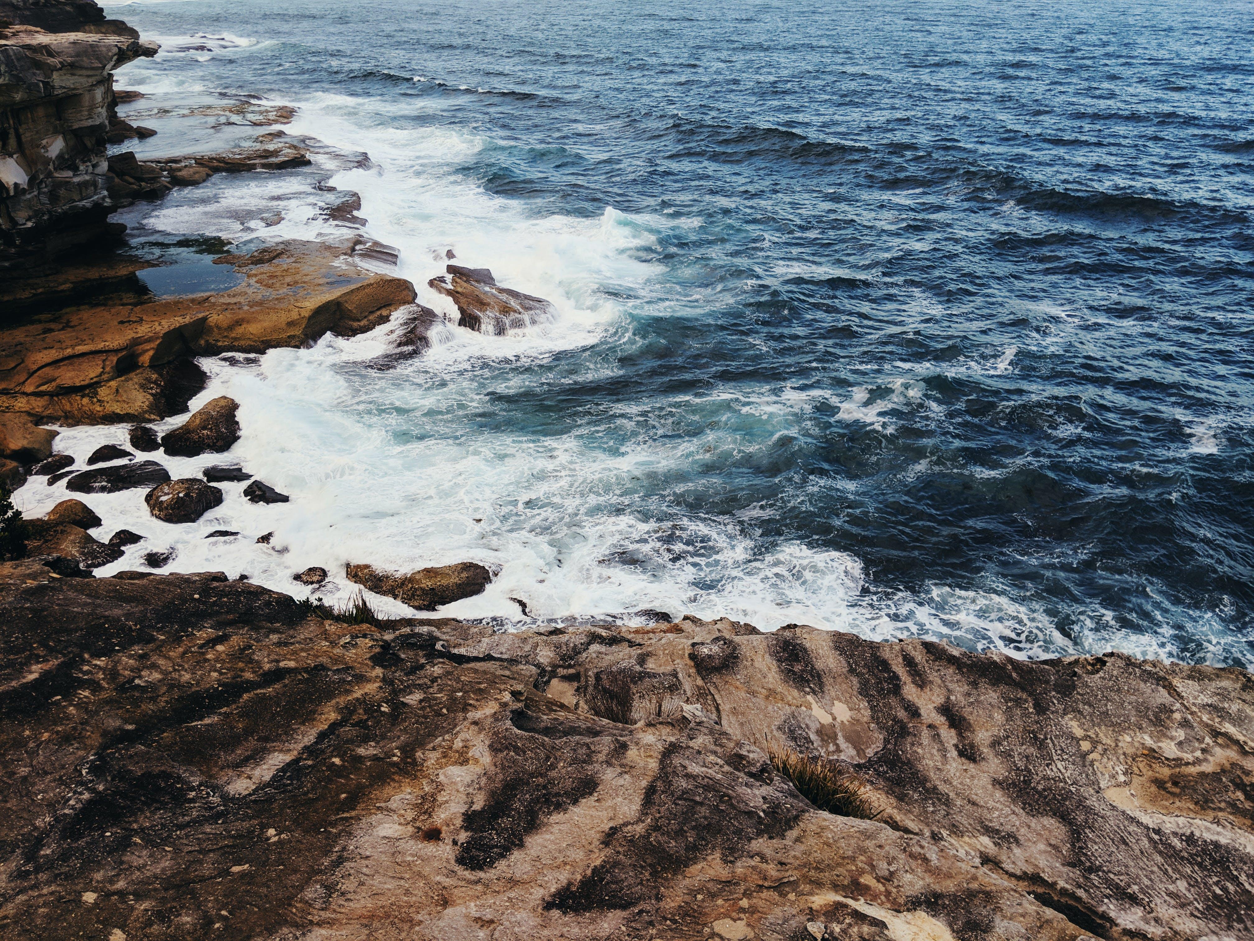 Foto d'estoc gratuïta de mar, natura, oceà, onades
