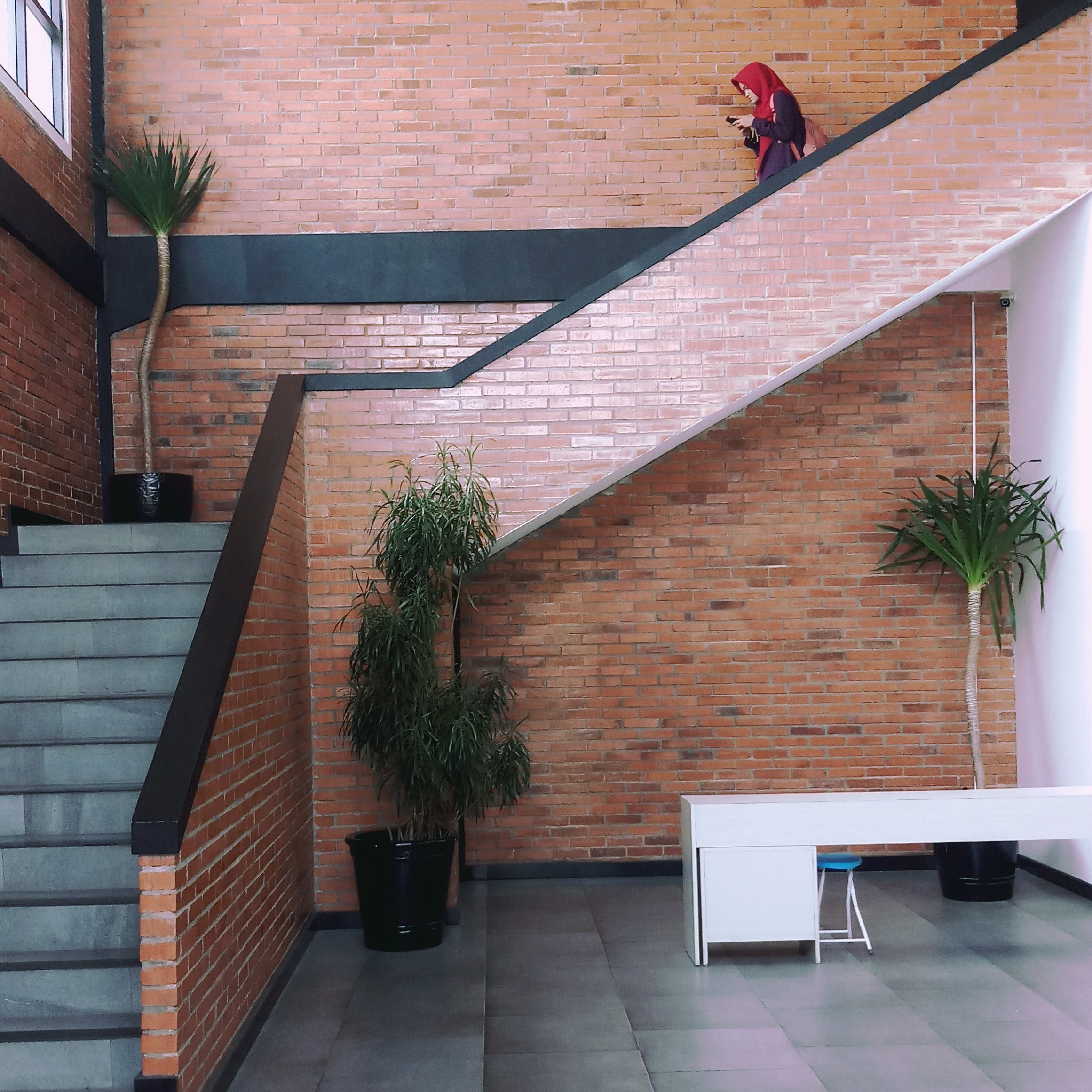 Free stock photo of building, downstairs, stairs