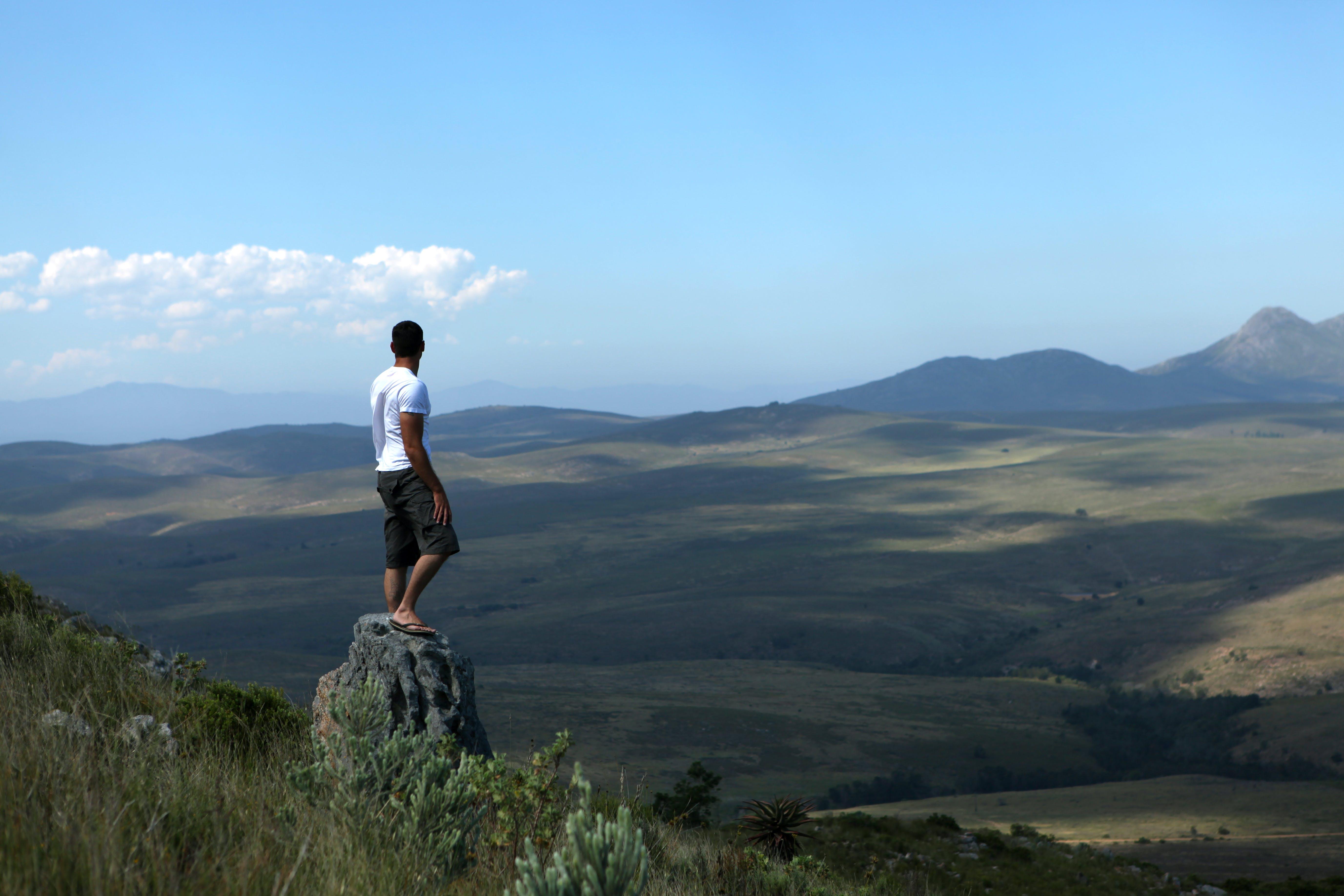 Kostenloses Stock Foto zu abenteuer, berge, blick auf die berge, entfernung