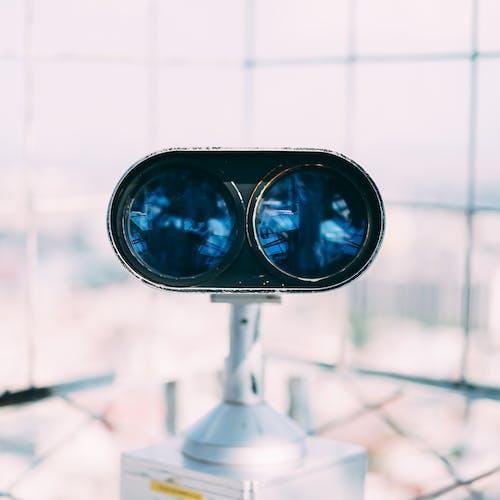 Foto d'estoc gratuïta de binoculars, macro