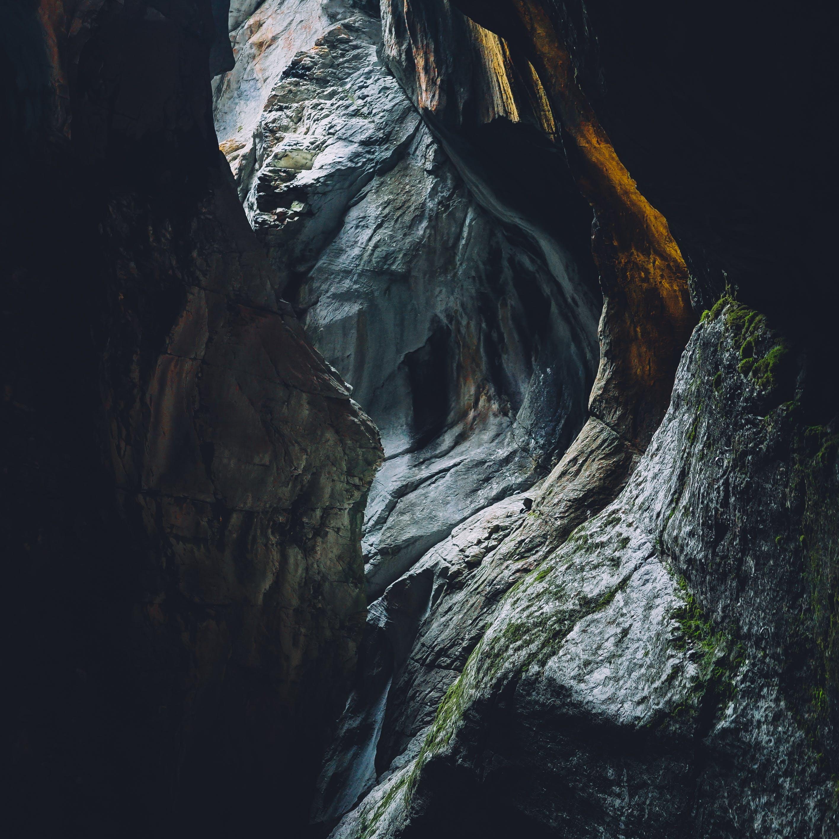 Gratis arkivbilde med dagslys, geologi, hule, miljø