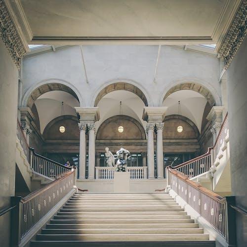 Бесплатное стоковое фото с арки, архитектура, в помещении, здание