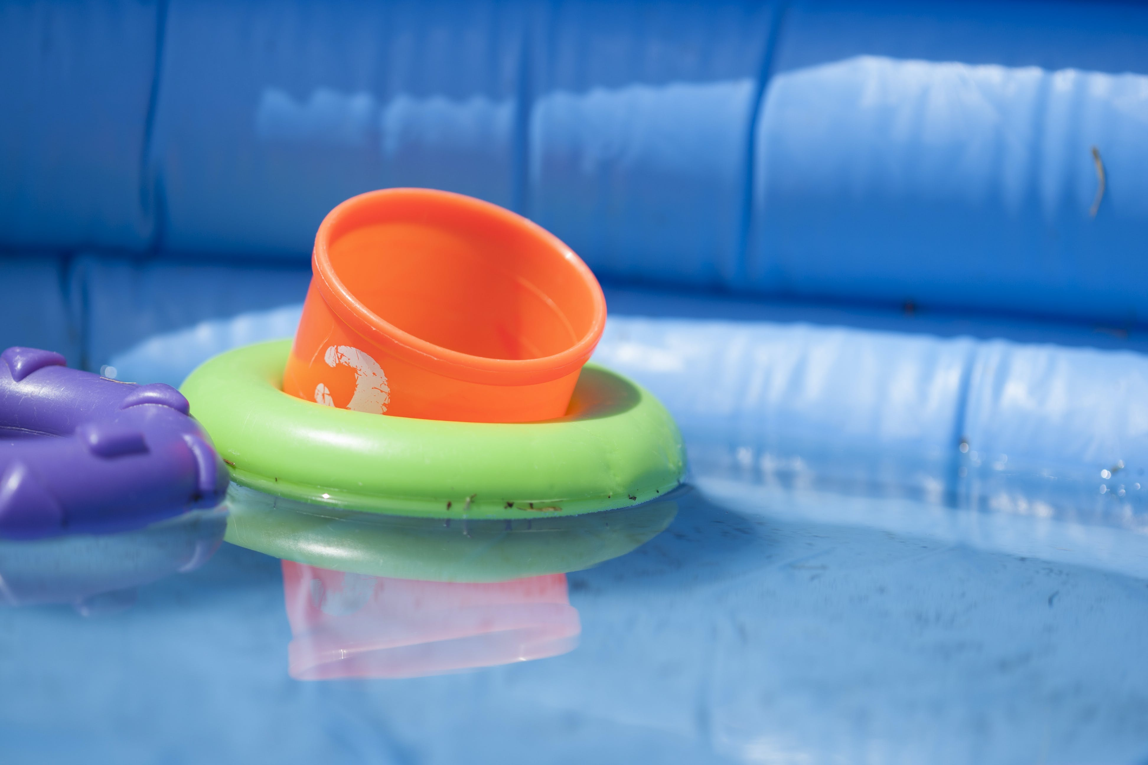 Free stock photo of pool, safety, swimming, toddler toys