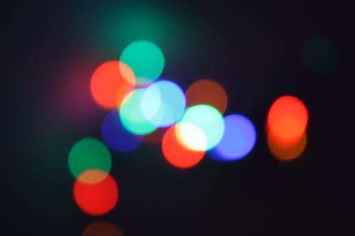 Photos gratuites de illuminations de noël