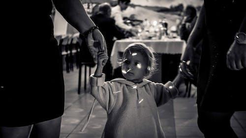 Photos gratuites de bébé, enfant, noir et blanc
