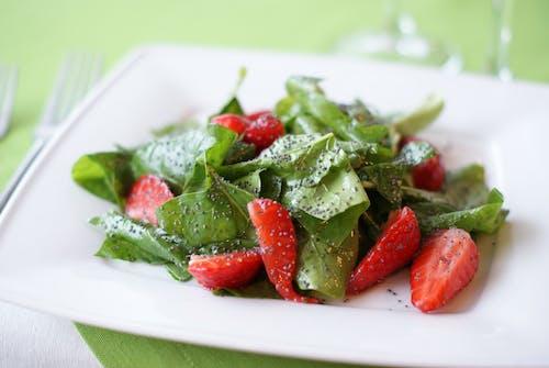 Sliced Strawberry Fruit
