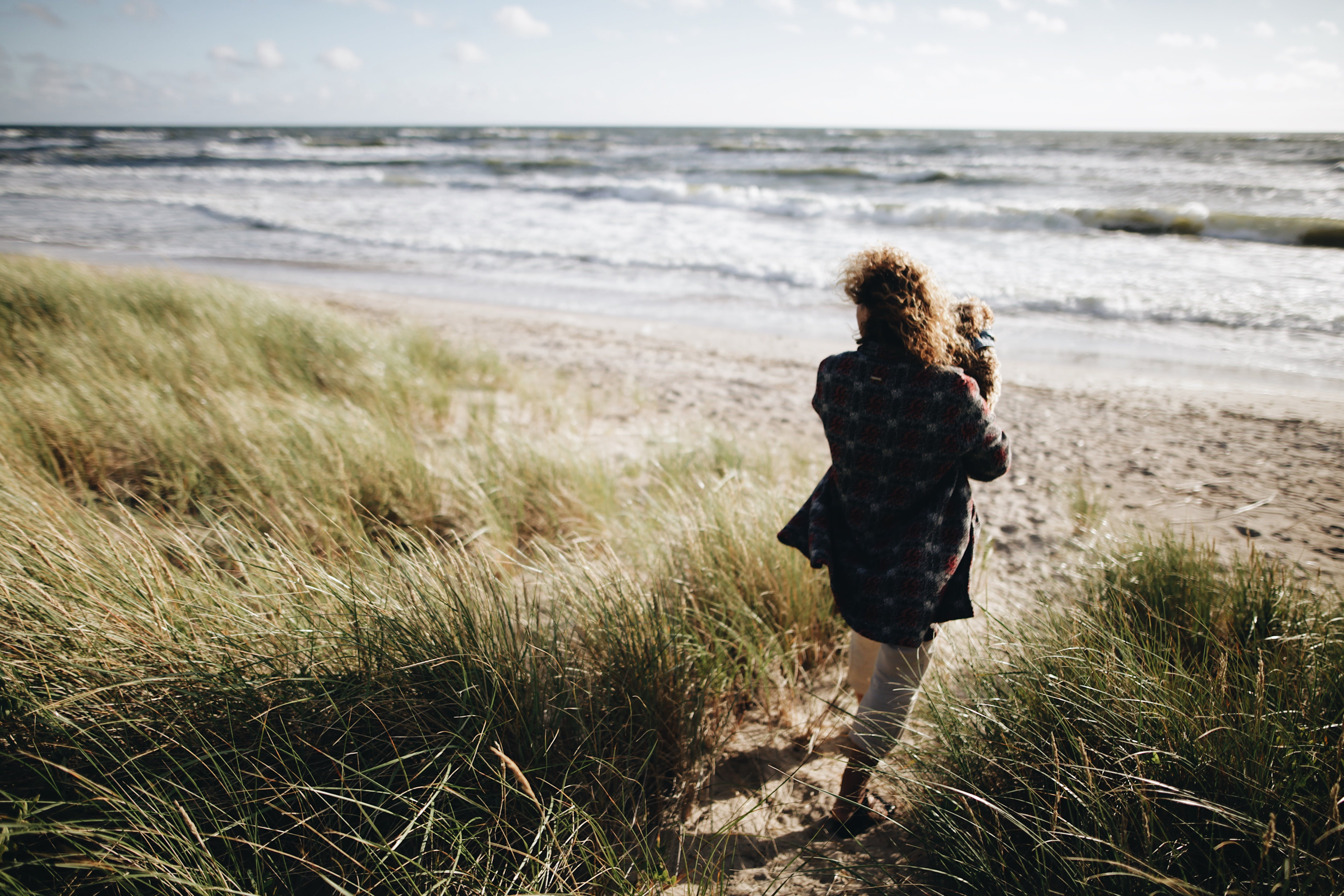 Gratis lagerfoto af bølger, fritid, græs, hav