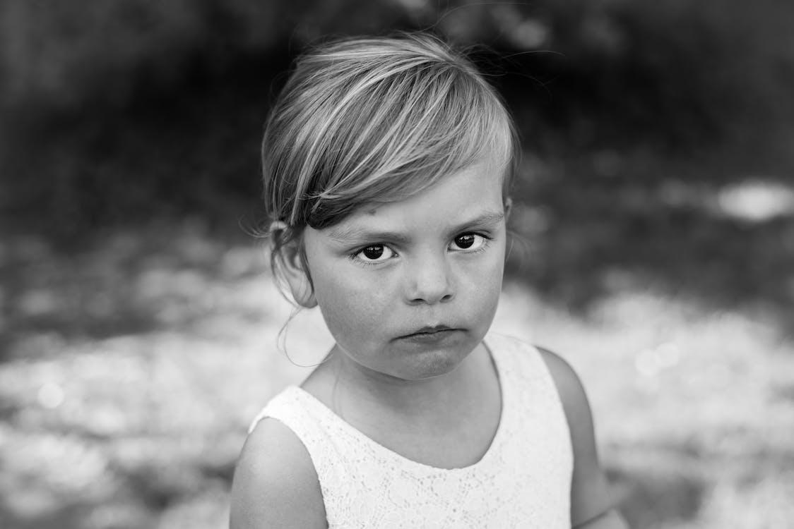 Free stock photo of little girl, portrait
