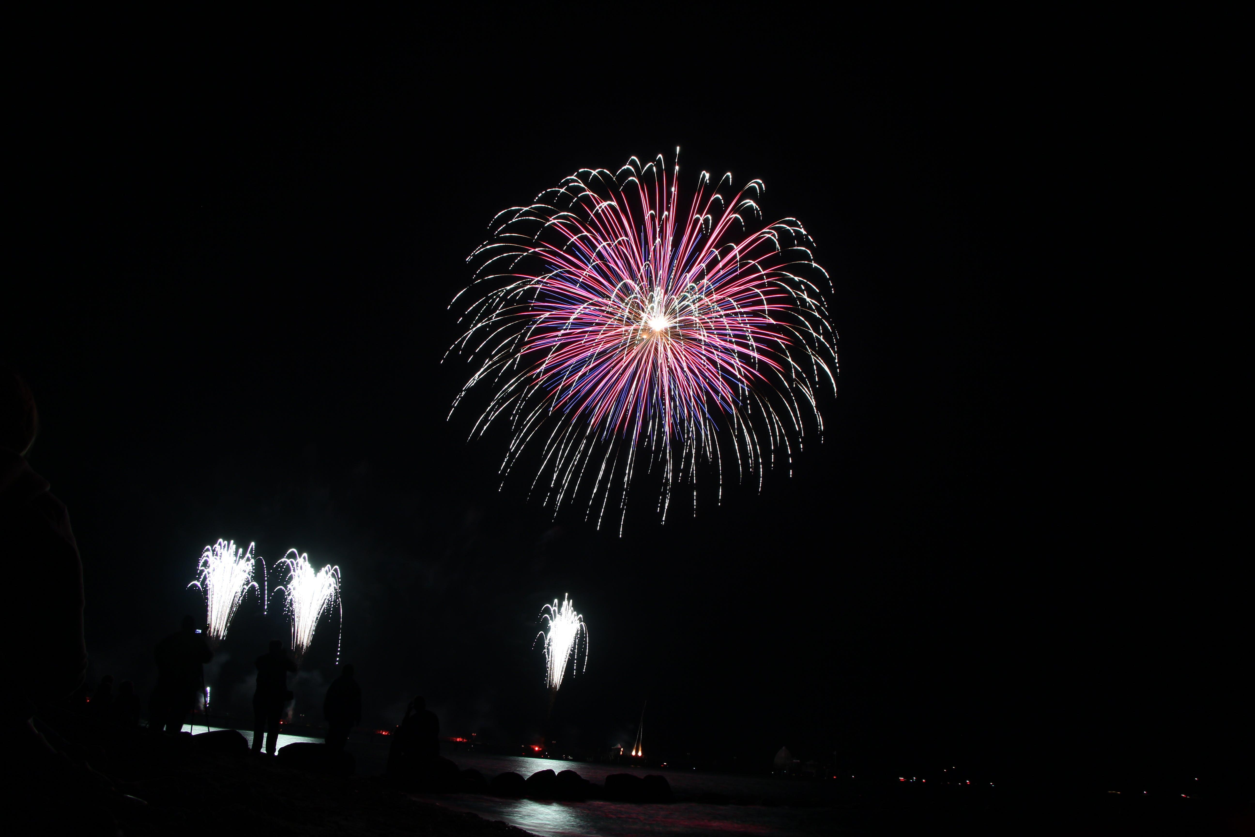 Kostenloses Stock Foto zu feier, festival, feuerwerk, neujahr