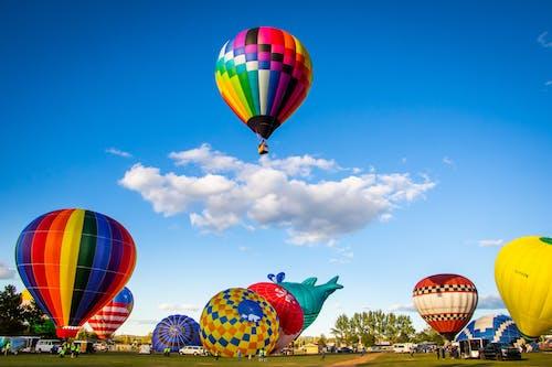 Foto profissional grátis de aventura, balões, balões de ar quente, céu