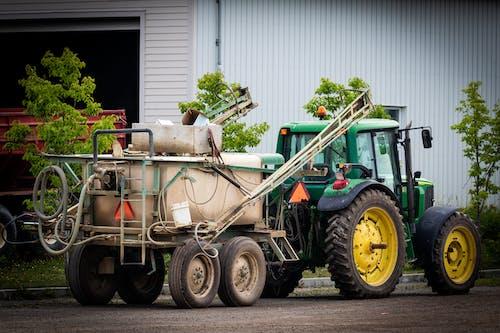 คลังภาพถ่ายฟรี ของ การทำฟาร์มแทรกเตอร์