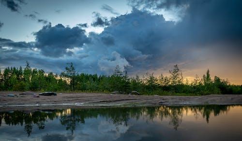 Kostenloses Stock Foto zu abend, landschaft, landschaftlich, natur