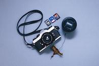 camera, technology, leaf