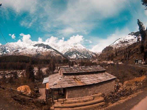 コールド, 冬, 山岳, 岩の無料の写真素材