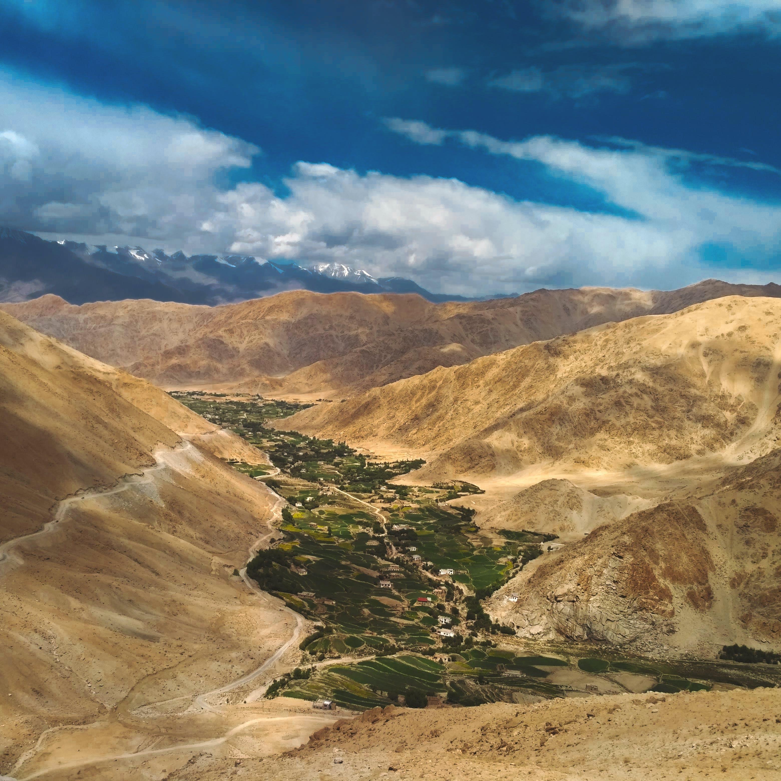 Kostenloses Stock Foto zu berge, dürr, gebirge, landschaft