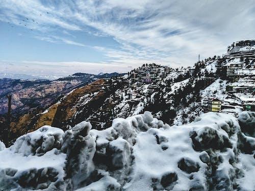 Gratis lagerfoto af bjerg, dagslys, forkølelse, landskab