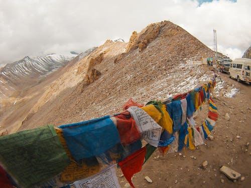 dağlar, Hindistan, ladakh içeren Ücretsiz stok fotoğraf