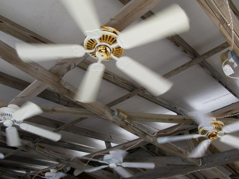 Free stock photo of fans, ceiling fans, outdoor fans