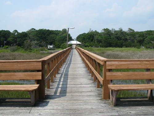 Free stock photo of beach, boardwalk, carolina coast, deck