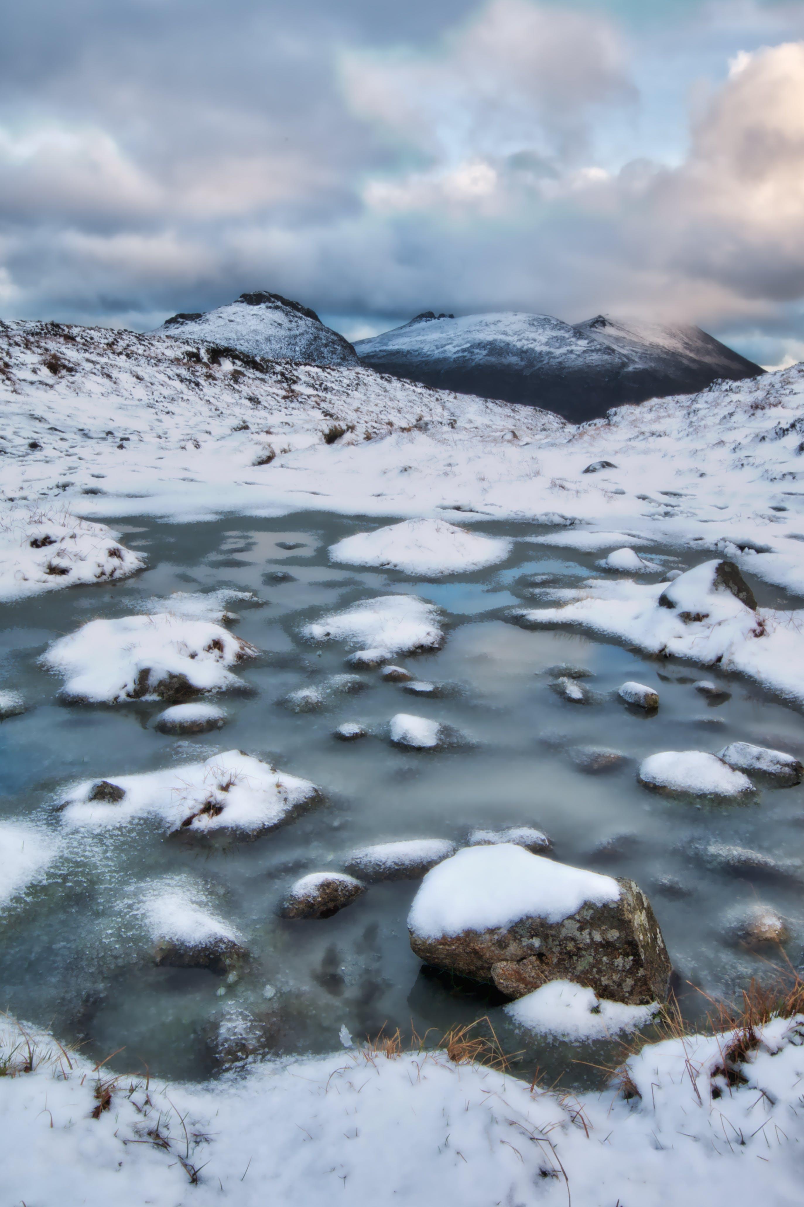Foto profissional grátis de cênico, com frio, congelado, gelado