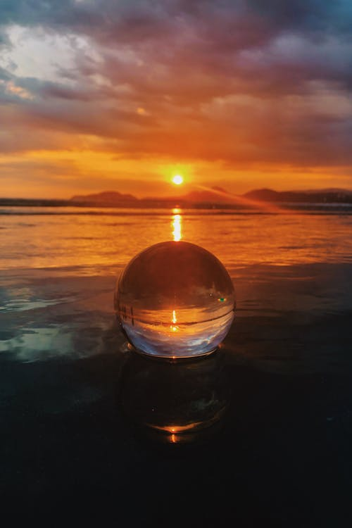 Water Droplet during Golden Hour