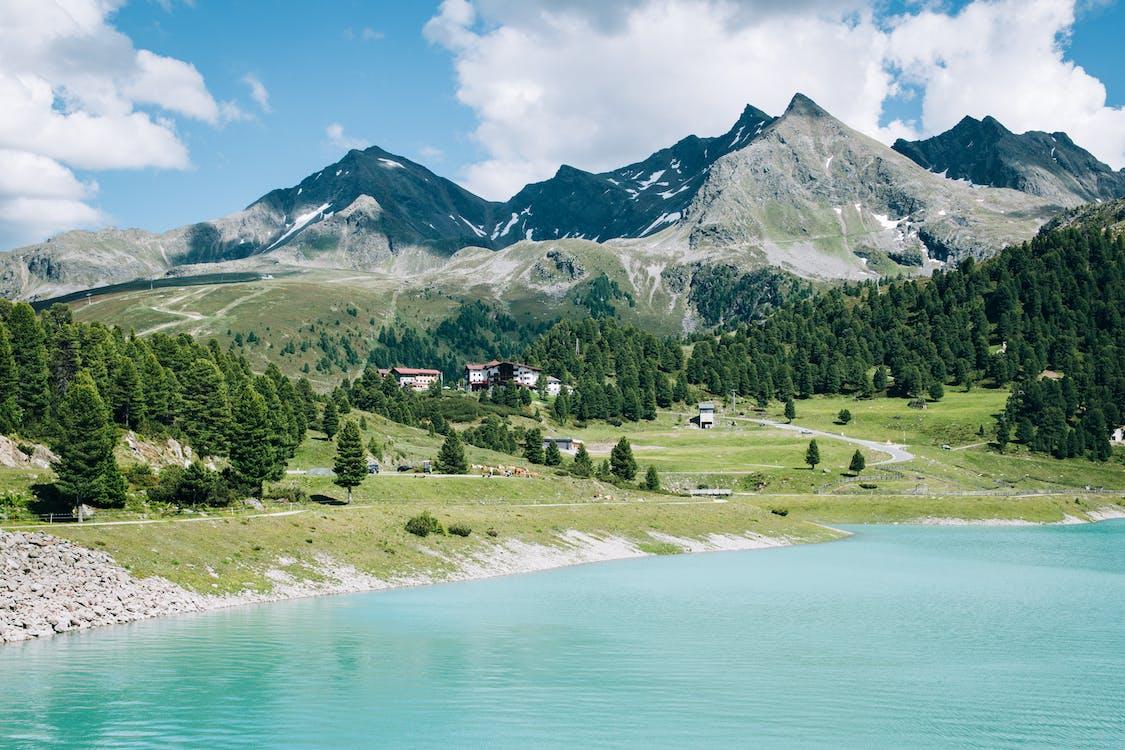 alpi, austria, luce del giorno