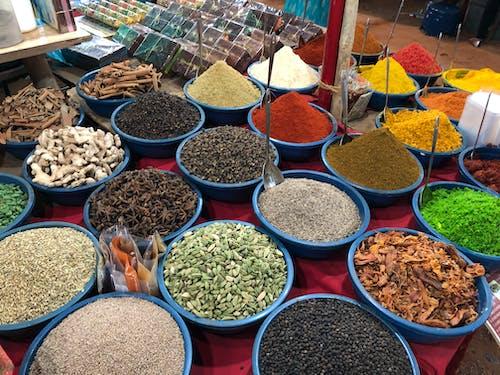 Gratis arkivbilde med cardamon, garam masala, indisk mat, indiske krydder