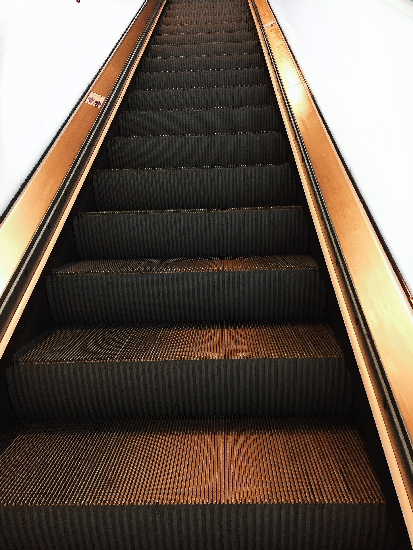 Free stock photo of abstract art, amsterdam, escalator, escalators