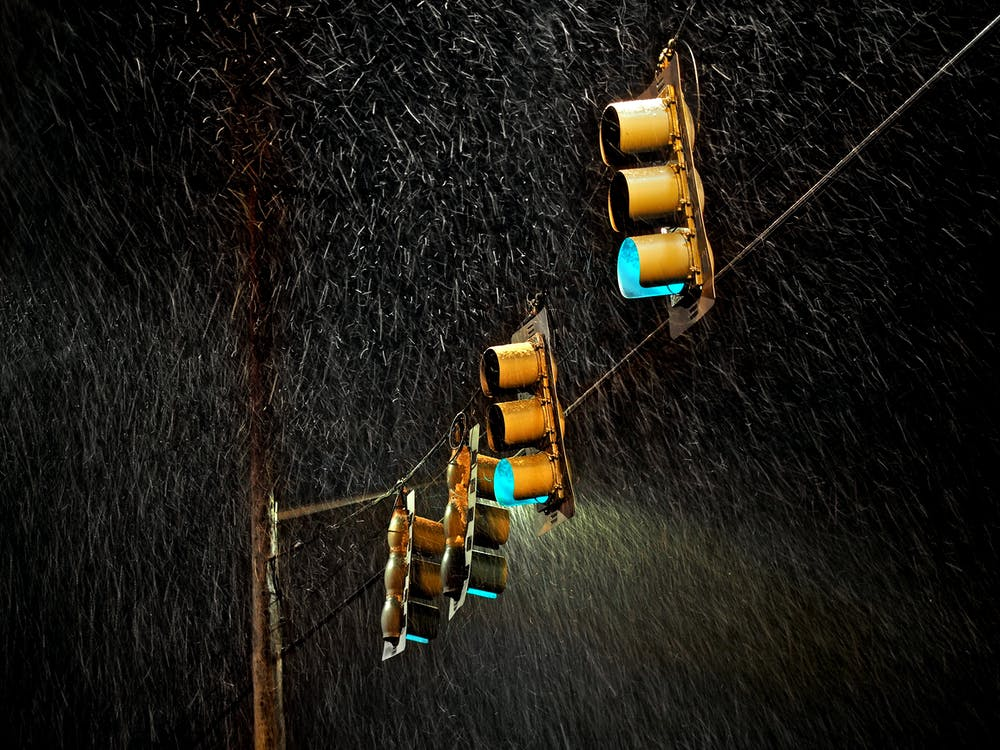 ban đêm, bão táp, chụp ảnh đêm