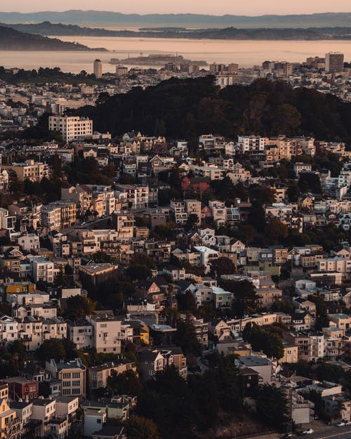 全景, 城市, 屋頂, 市容 的 免费素材照片