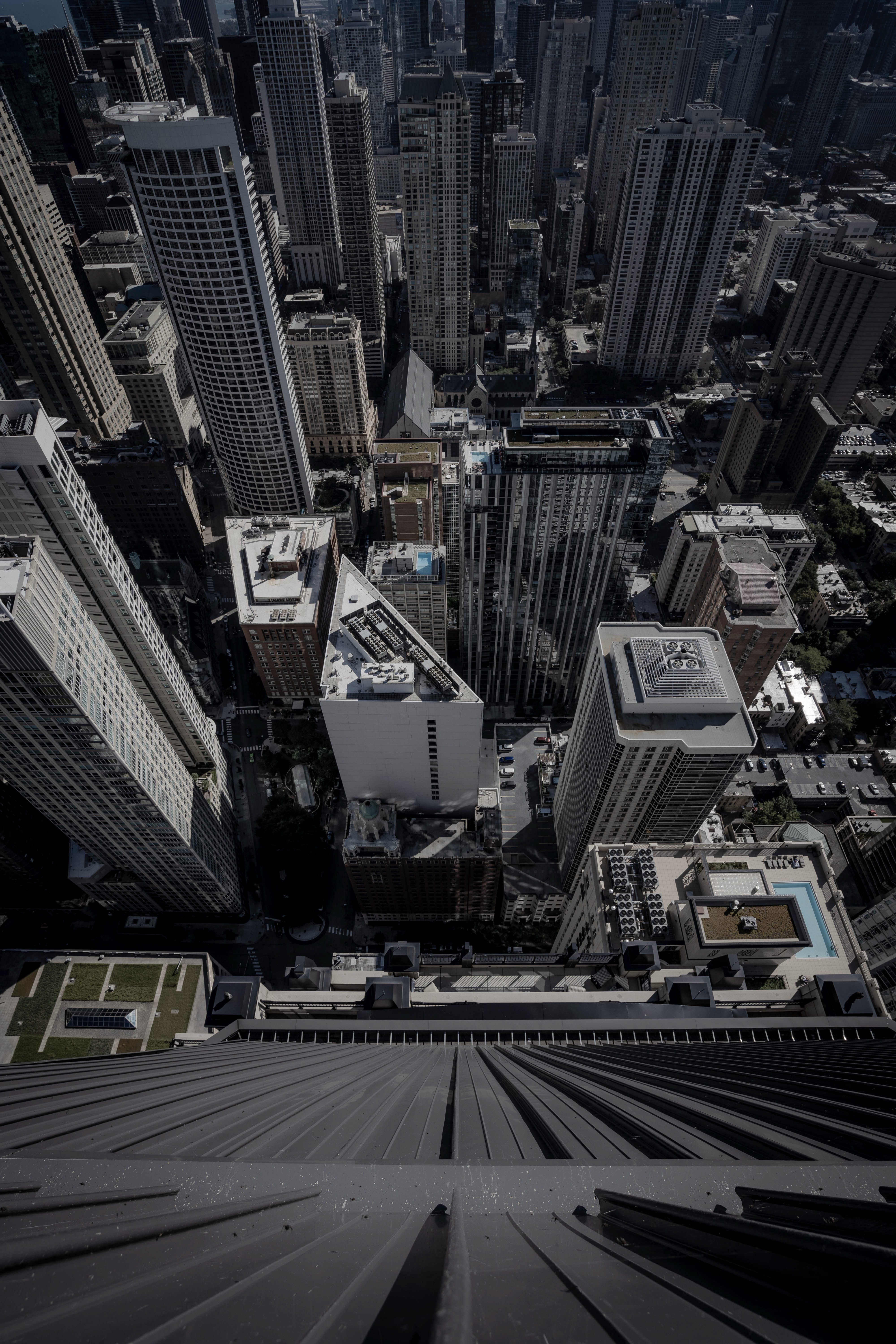 High Angle Photo Of City Buildings