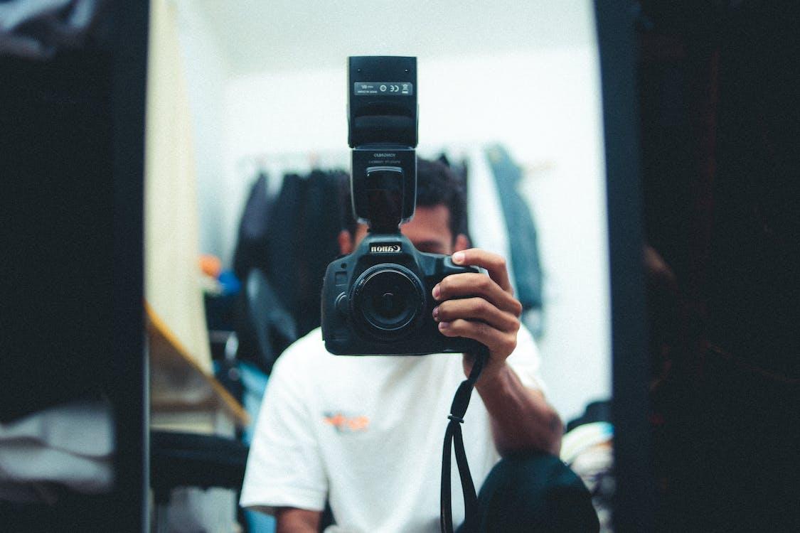 กล้อง, การถ่ายภาพ, คน
