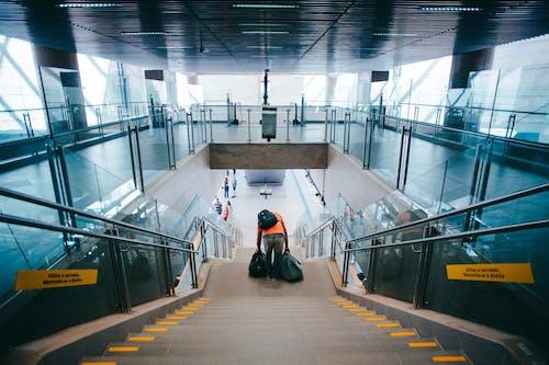 人, 地鐵系統, 建築, 建造 的 免費圖庫相片