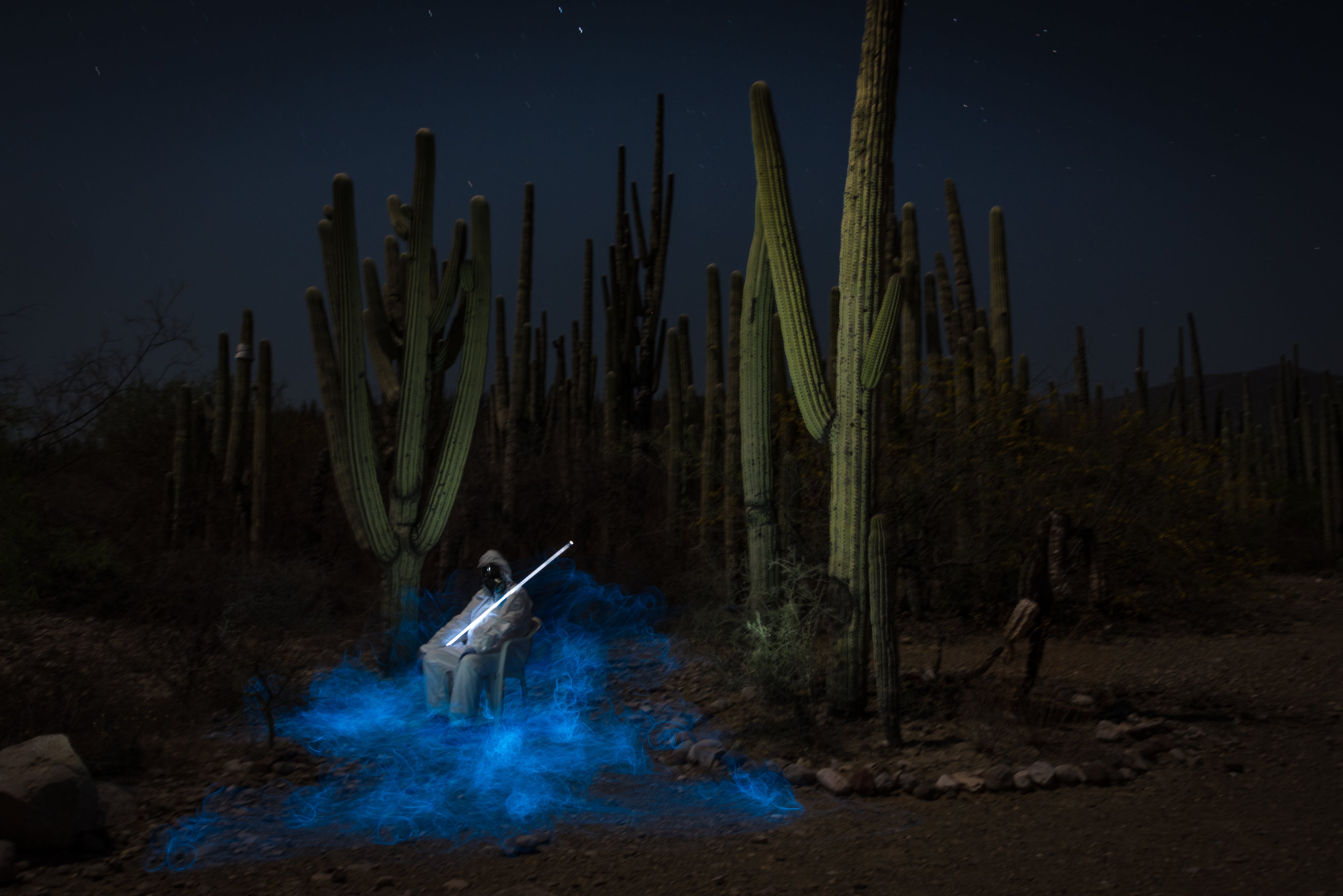Free stock photo of light painting, mexico