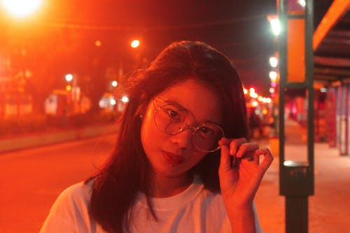 sokak ışıkları içeren Ücretsiz stok fotoğraf