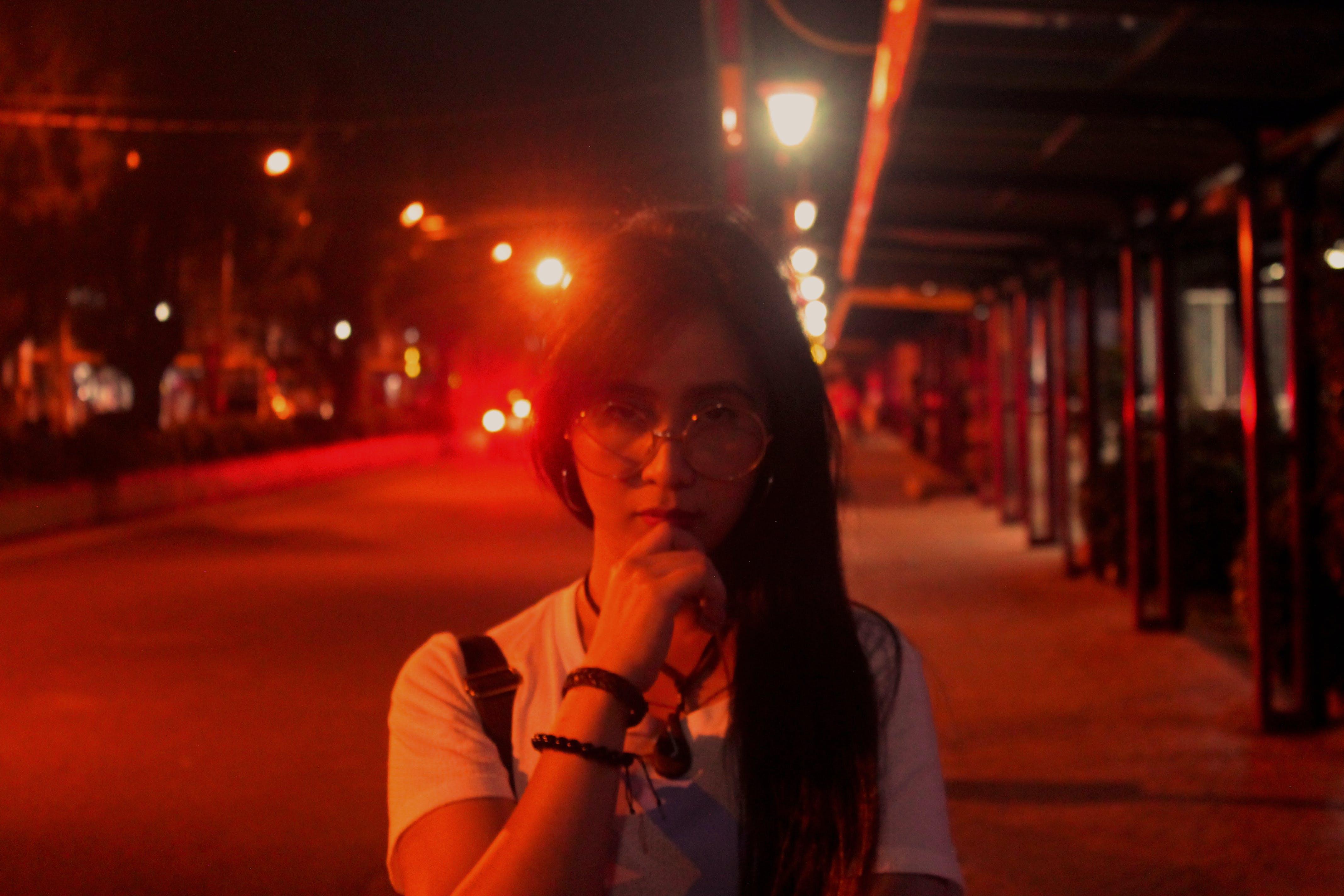 Free stock photo of street lights