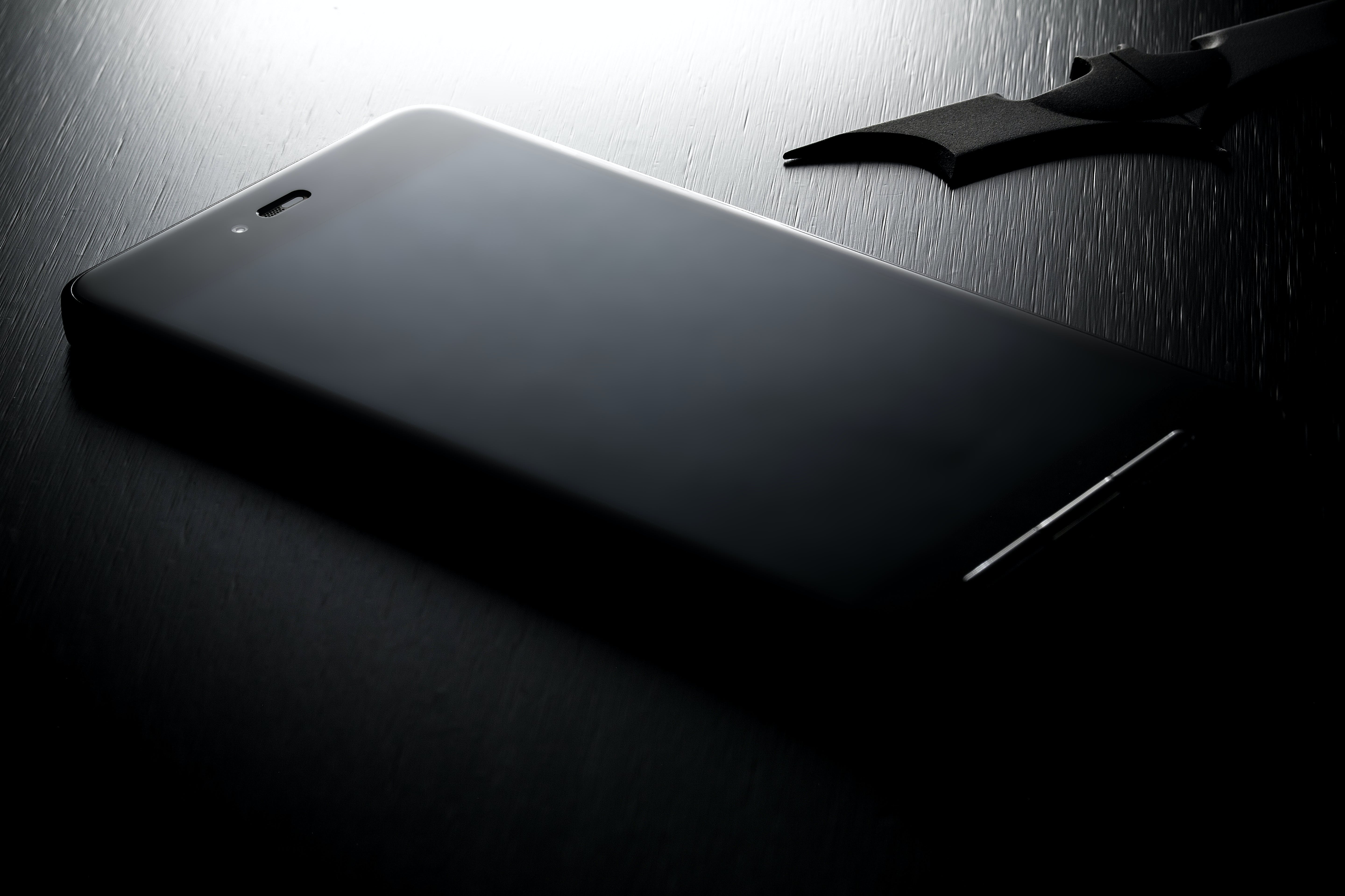 Black Android Smartphone