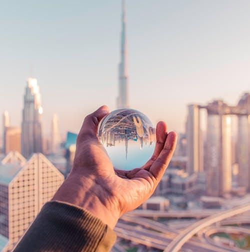 Gratis stockfoto met architectuur, burj khalifa, dubai, dubai flat