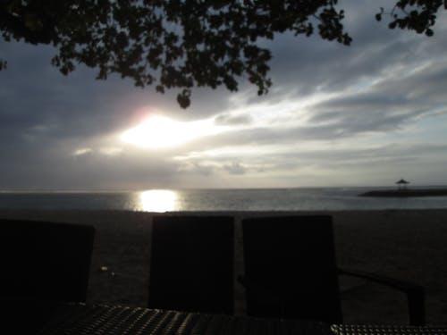 Foto stok gratis Bali, Indonesia, matahari terbenam, pantai
