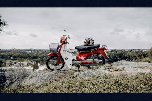 Kostnadsfri bild av gröngöling, retro, tappcykel